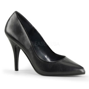 """Shoes - 4"""" High Heel Leather Work Casual Pointed Toe Shoes"""